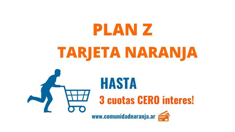 Plan Z Tarjeta Naranja