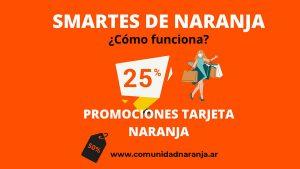 promociones smartes tarjeta naranja