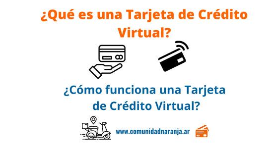 como funciona una tarjeta de credito virtual