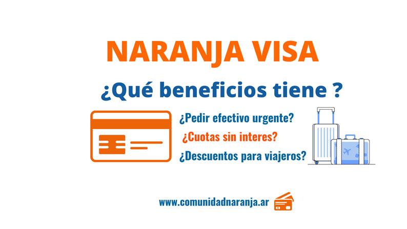 Tarjeta Naranja Visa